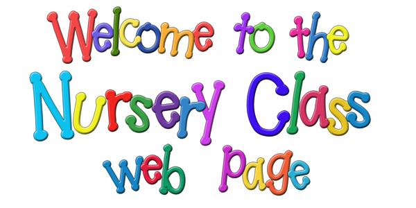 Nursery class webpage